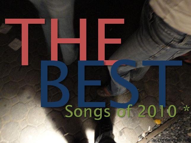 Best Songs of 2010 - Blog Cover